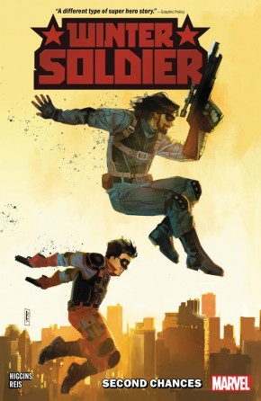 WINTER SOLDIER SECOND CHANCES GRAPHIC NOVEL