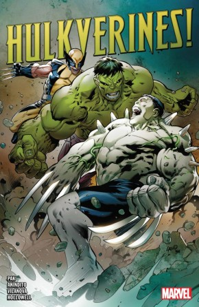 HULKVERINES GRAPHIC NOVEL