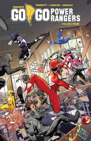 GO GO POWER RANGERS VOLUME 4 GRAPHIC NOVEL
