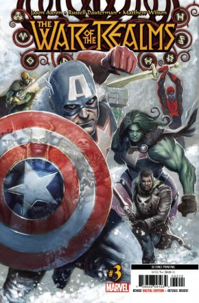 WAR OF THE REALMS #3 2ND PRINTING