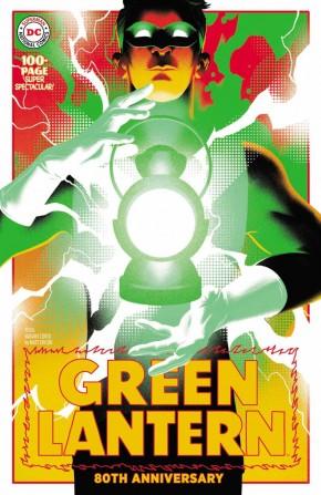 GREEN LANTERN 80TH ANNIVERSARY 100 PAGE SUPER SPECTACULAR #1 1950S MATT TAYLOR VARIANT
