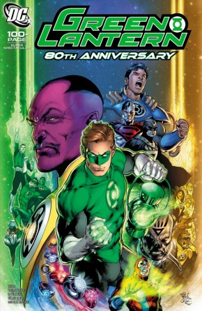 GREEN LANTERN 80TH ANNIVERSARY 100 PAGE SUPER SPECTACULAR #1 2000S IVAN REIS VARIANT