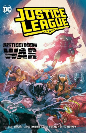 JUSTICE LEAGUE VOLUME 5 JUSTICE DOOM WAR GRAPHIC NOVEL
