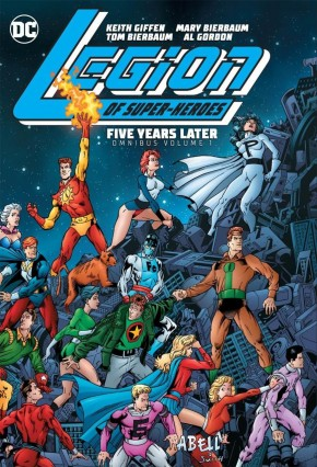 LEGION OF SUPER HEROES FIVE YEARS LATER OMNIBUS HARDCOVER