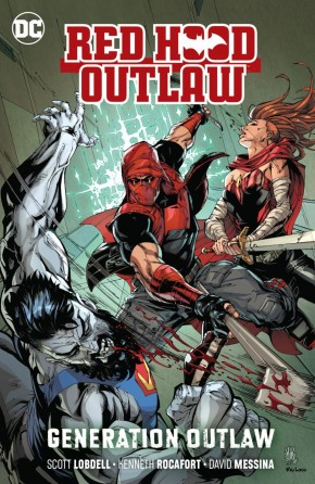 RED HOOD OUTLAW VOLUME 3 GENERATION OUTLAW GRAPHIC NOVEL