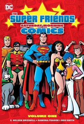 SUPER FRIENDS SATURDAY MORNING CARTOON VOLUME 1 HARDCOVER