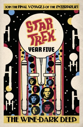 STAR TREK YEAR FIVE VOLUME 2 THE WINE-DARK DEEP GRAPHIC NOVEL