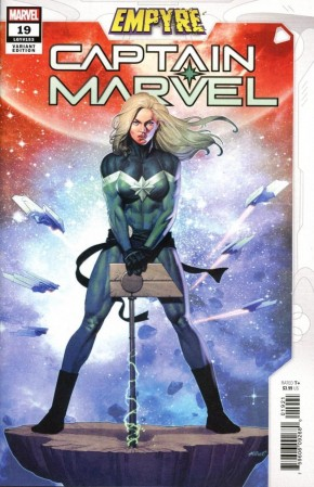 CAPTAIN MARVEL #19 (2019 SERIES) OLIVETTI EMPYRE VARIANT