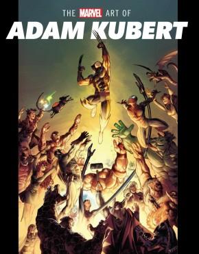 MARVEL ART OF ADAM KUBERT HARDCOVER