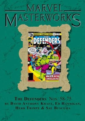 MARVEL MASTERWORKS DEFENDERS VOLUME 7 DM VARIANT #295 EDITION HARDCOVER