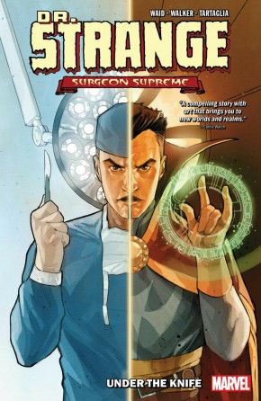 DR STRANGE SURGEON SUPREME VOLUME 1 UNDER THE KNIFE GRAPHIC NOVEL