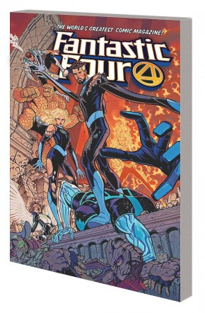 FANTASTIC FOUR VOLUME 5 POINT OF ORIGIN GRAPHIC NOVEL