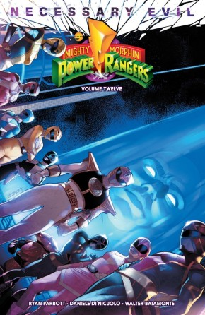 MIGHTY MORPHIN POWER RANGERS VOLUME 12 GRAPHIC NOVEL