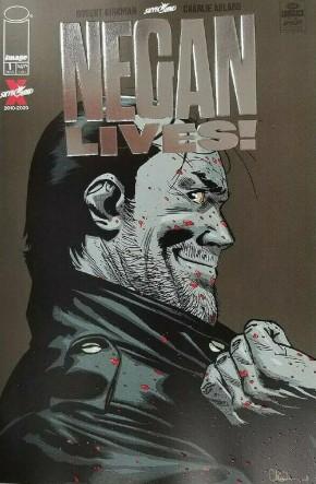 NEGAN LIVES #1 SILVER FOIL 2 PER STORE RETAILER VARIANT