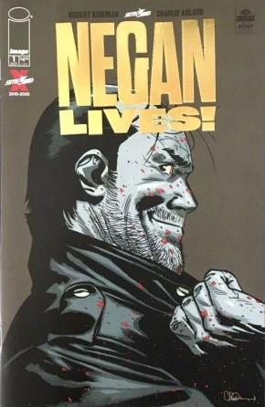 NEGAN LIVES #1 GOLD FOIL 1 PER STORE RETAILER VARIANT