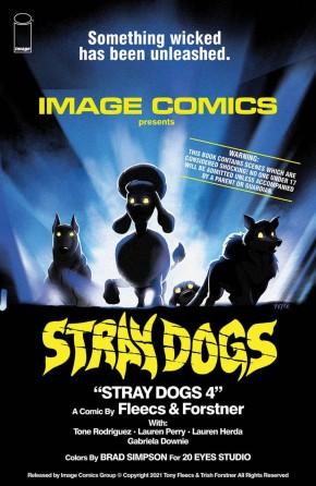 STRAY DOGS #4 HORROR MOVIE VARIANT