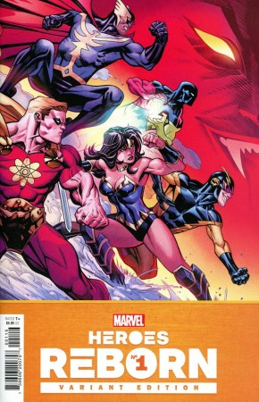 HEROES REBORN #1 MCGUINNESS 1 IN 25 INCENTIVE VARIANT