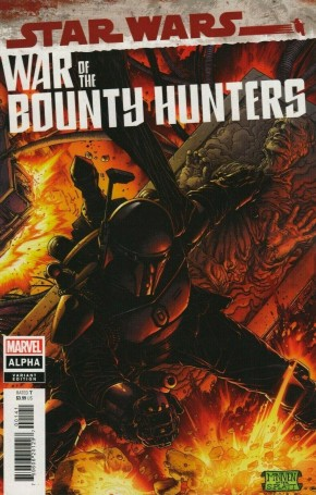 STAR WARS WAR OF THE BOUNTY HUNTERS ALPHA #1 BLACK ARMOR 1 IN 50 INCENTIVE VARIANT