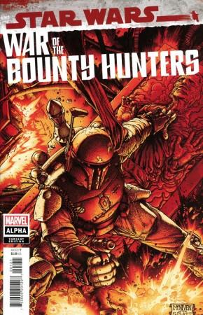 STAR WARS WAR OF THE BOUNTY HUNTERS ALPHA #1 MCNIVEN CRIMSON VARIANT