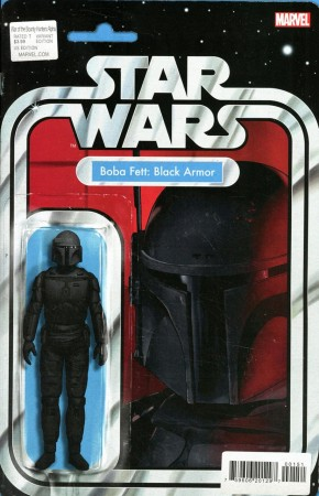 STAR WARS WAR OF THE BOUNTY HUNTERS ALPHA #1 ACTION FIGURE VARIANT
