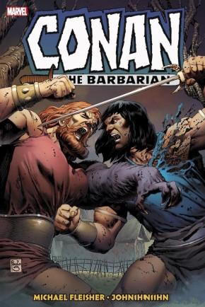 CONAN THE BARBARIAN THE ORIGINAL MARVEL YEARS OMNIBUS VOLUME 6 HARDCOVER PAULO SEQUEIRA COVER