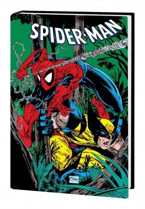 SPIDER-MAN BY MCFARLANE OMNIBUS DM WOLVERINE VARIANT HARDCOVER