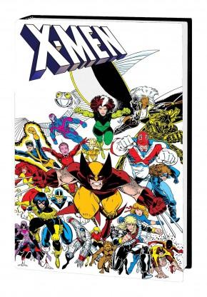 X-MEN INFERNO PROLOGUE OMNIBUS HARDCOVER ARTHUR ADAMS DM VARIANT COVER