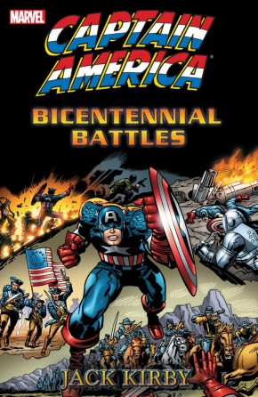 CAPTAIN AMERICA BICENTENNIAL BATTLES NEW TREASURY EDITION GRAPHIC NOVEL