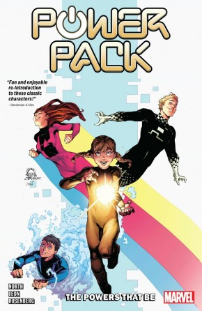 POWER PACK POWERS THAT BE GRAPHIC NOVEL