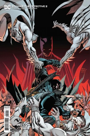 BATMAN THE DETECTIVE #2 ANDY KUBERT CARD STOCK VARIANT