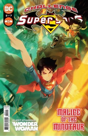 CHALLENGE OF THE SUPER SONS #2