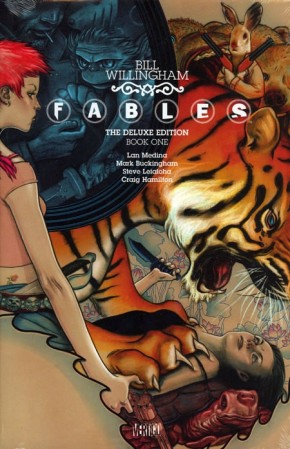 FABLES VOLUME 1 DELUXE EDITION HARDCOVER