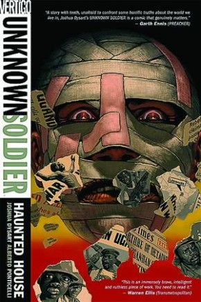UNKNOWN SOLDIER VOLUME 1 HAUNTED HOUSE GRAPHIC NOVEL