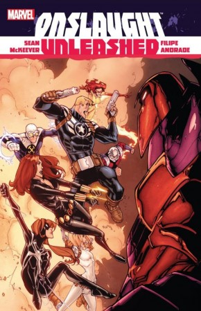 ONSLAUGHT UNLEASHED HARDCOVER