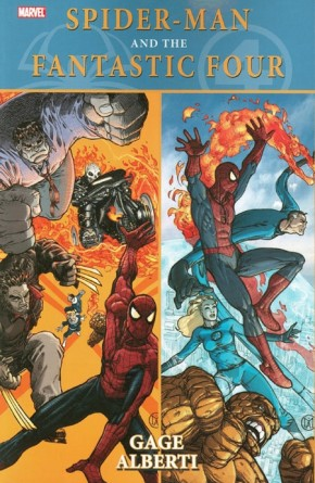 SPIDER-MAN AND THE FANTASTIC FOUR GRAPHIC NOVEL