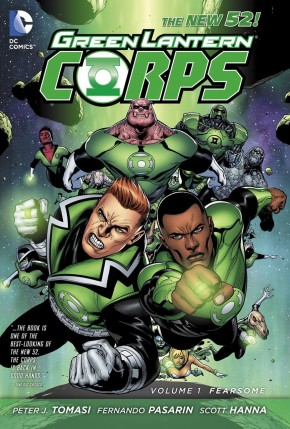 GREEN LANTERN CORPS VOLUME 1 FEARSOME HARDCOVER