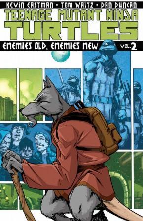 TEENAGE MUTANT NINJA TURTLES VOLUME 2 ENEMIES OLD ENEMIES NEW GRAPHIC NOVEL