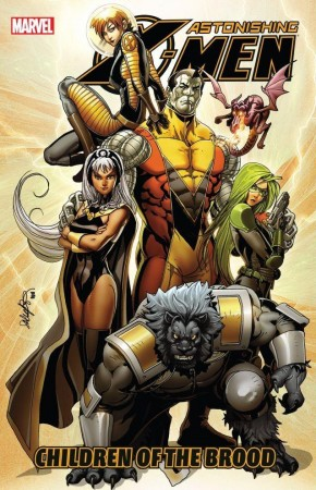 ASTONISHING X-MEN VOLUME 8 CHILDREN OF THE BROOD GRAPHIC NOVEL