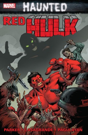 RED HULK HAUNTED GRAPHIC NOVEL