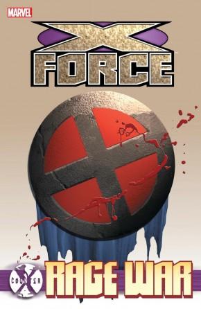 COUNTER X X-FORCE RAGE WAR GRAPHIC NOVEL