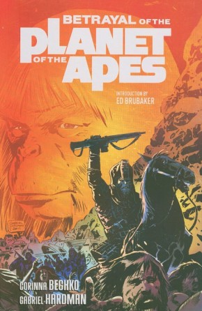 BETRAYAL OF THE PLANET OF THE APES GRAPHIC NOVEL