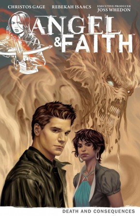 ANGEL AND FAITH SEASON 9 VOLUME 4 DEATH AND CONSEQUENCES GRAPHIC NOVEL