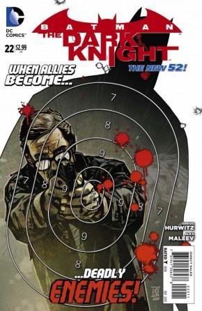 BATMAN THE DARK KNIGHT #22 (2011 SERIES)