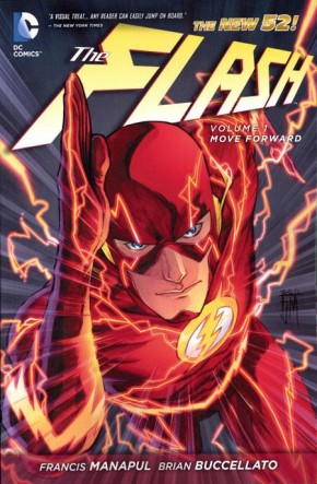 FLASH VOLUME 1 MOVE FORWARD HARDCOVER
