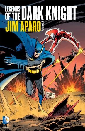 BATMAN LEGENDS OF THE DARK KNIGHT JIM APARO VOLUME 2 HARDCOVER
