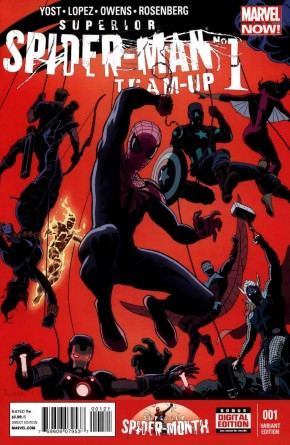 SUPERIOR SPIDER-MAN TEAM UP #1