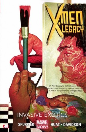 X-MEN LEGACY VOLUME 2 INVASIVE EXOTICS GRAPHIC NOVEL