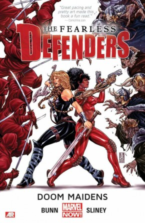 FEARLESS DEFENDERS VOLUME 1 DOOM MAIDENS GRAPHIC NOVEL