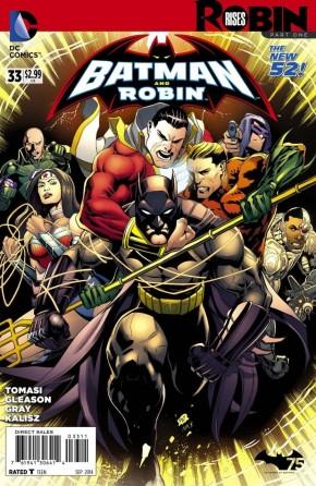 BATMAN AND ROBIN #33 (2011 SERIES)