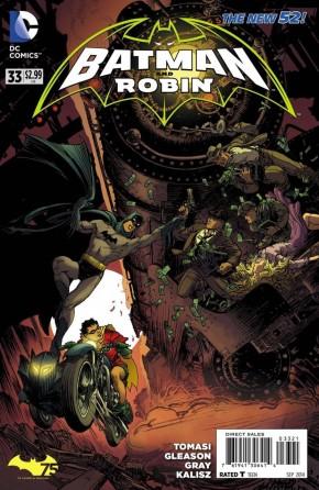 BATMAN AND ROBIN #33 (2011 SERIES) BATMAN 75 VARIANT